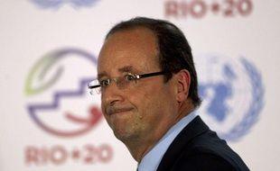 François Hollande au sommet Rio+20 à Rio de Janeiro, au Brésil, le 20 juin 2012.
