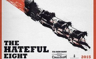 Une partie de l'affiche du film de Quentin Tarantino «The Hateful Eight».