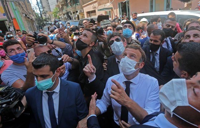 Explosions à Beyrouth: Macron va proposer un «nouveau pacte» politique aux responsables libanais