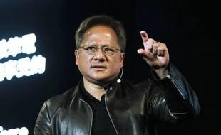 Le patron de Nvidia Jensen Huang en 2017.