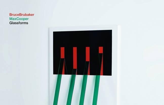 La couverture de l'album Glassforms, de Bruce Brubaker et Max Cooper.