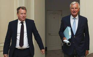 David Frost, le négociateur britannique, et Michel Barnier, le négociateur européen. (archives)