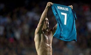Cristiano Ronaldo a inscrit un but au Cam Nou face au FC Barcelone