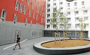 La résidence Romain-Gary accueillera à partir de la rentrée plus de 200 étudiants.