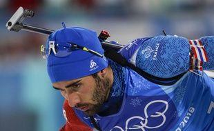 Martin Fourcade en route vers un cinquième titre olympique.