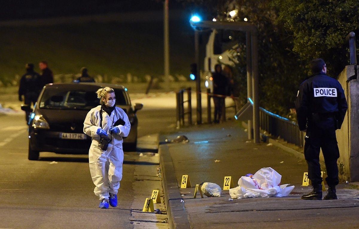 Un homme d'une vingtaine d'années a été abattu à la kalachnikov à Marseille, le 14 mars 2016. – A.C. POUJOULAT / AFP