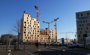 A Strasbourg, la plus haute tour de France entièrement en bois