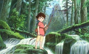 La série «Ronya, fille de brigand» est co-produite par le Studio Ghibli.