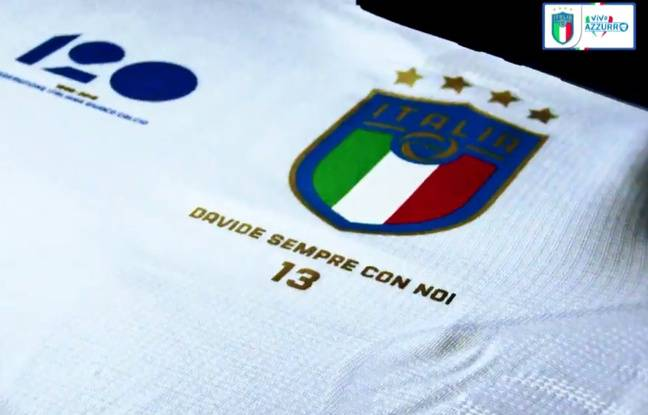 Italie: La Nazionale portera un maillot hommage à Davide Astori face à l'Argentine