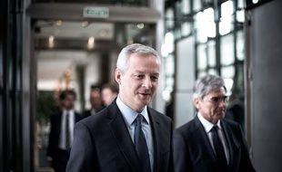Le ministre de l'Economie et des Finances Bruno Le Maire, le 22 mars 2018.
