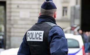 Illustration d'un intervention de la police ici à République, à Rennes.