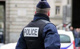 Illustration d'une intervention de la police.