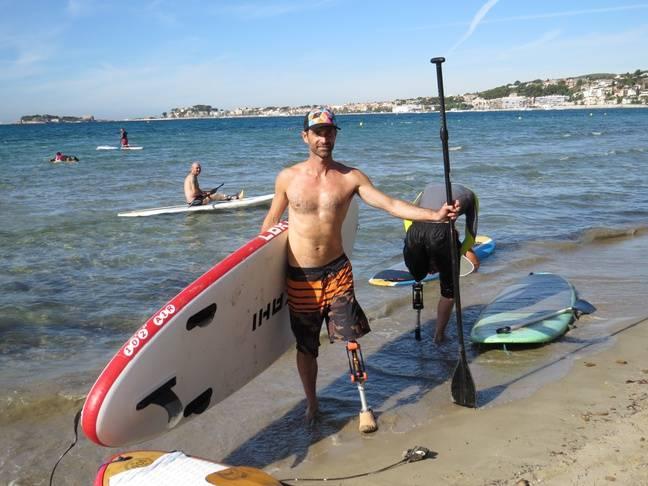 Eric Dargent à Sanary-sur-Mer (Var) le 5 octobre 2016