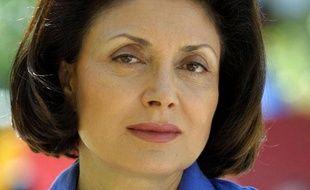 Muriel Marland-Militello, député UMP de la 2e circonscription des Alpes-Maritimes, le 24 mai 2002 à Nice