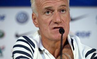 Didier Deschamps à Bordeaux le 6 septembre 2015.