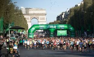 L'édition 2014 du marathon de Paris.