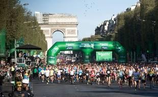 L'édition 2014 du marathon de Paris.