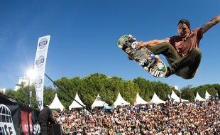 Le skateboard attire énormément d'amateurs et de curieux.
