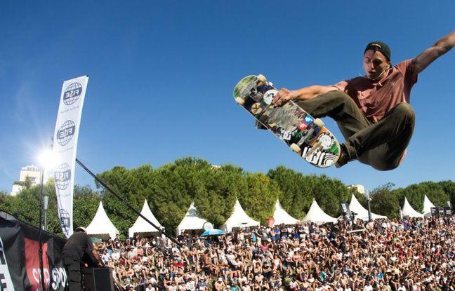 Le skateboard a attiré énormément d'amateurs et de curieux, pendant cinq jours.