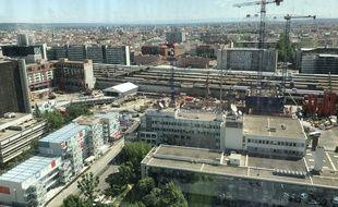 A Lyon, l'équipe municipale a acté mardi un nouveau projet d'aménagement urbain pour le quartier de la Part-Dieu.