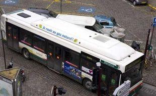 Un bus de la société Transpele à Lille en mai 2009.