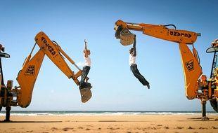 """Les Anglais de Motionhouse présenteront les 10 et 11 mai leur nouveau spectacle baptisé """"Traction""""."""