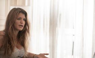 Marlène Schiappa, le 26 juillet 2018 dans son bureau à Paris.