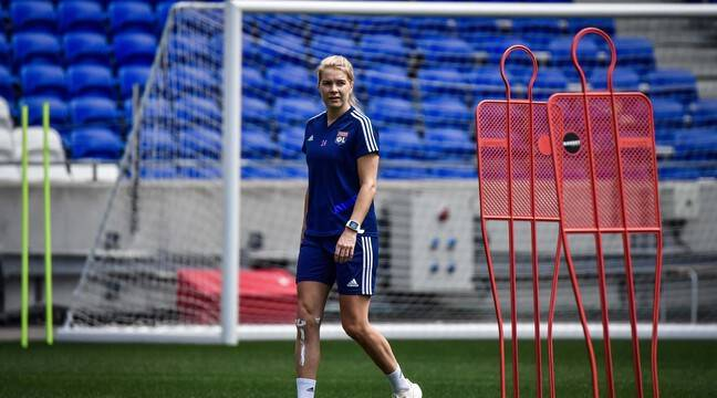 After Griedge Mbock, Ada Hegerberg finally returns to training - 24 News  Recorder