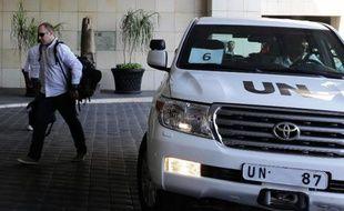 Des experts de l'ONU sont arrivés dimanche à Damas pour examiner l'utilisation présumée d'armes chimiques dans le conflit en Syrie, après l'acceptation par le gouvernement des modalités proposées pour la sécurité et l'efficacité de la mission.