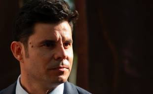 Javier Sánchez Santos, ici le 30 mai 2019, demande à la justice espagnole d'être reconnu comme le fils de Julio Iglesias.