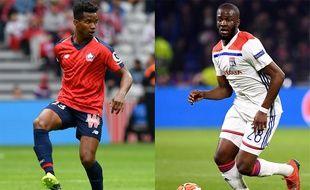Le Lillois Thiago Mendes est arrivé lundi soir à Lyon, tandis que Tanguy Ndombele vient de s'engager avec Tottenham.