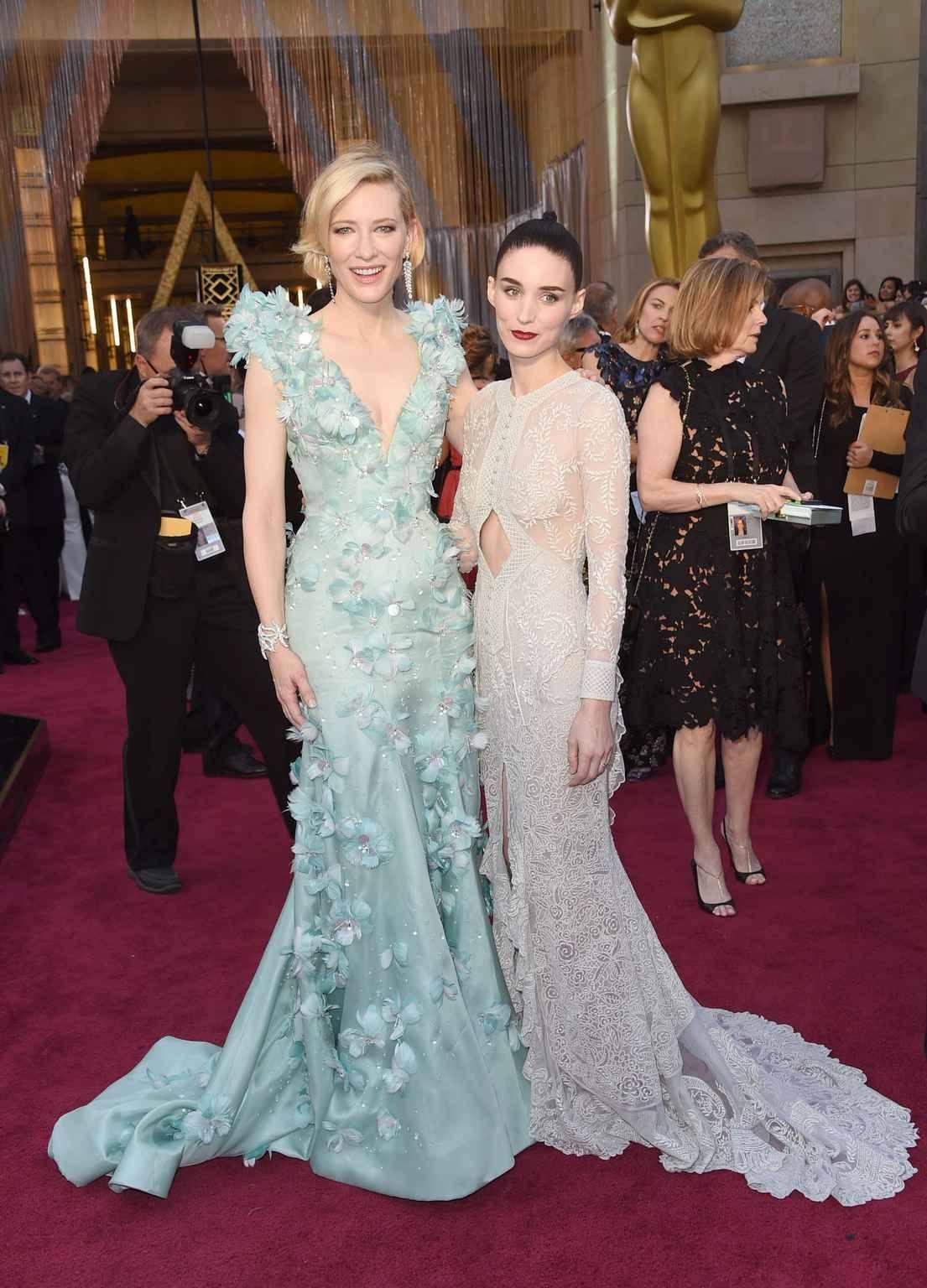 Les Robes Romantiques De Cate Blanchett Et Rooney Mara Nous 20minutes Fr