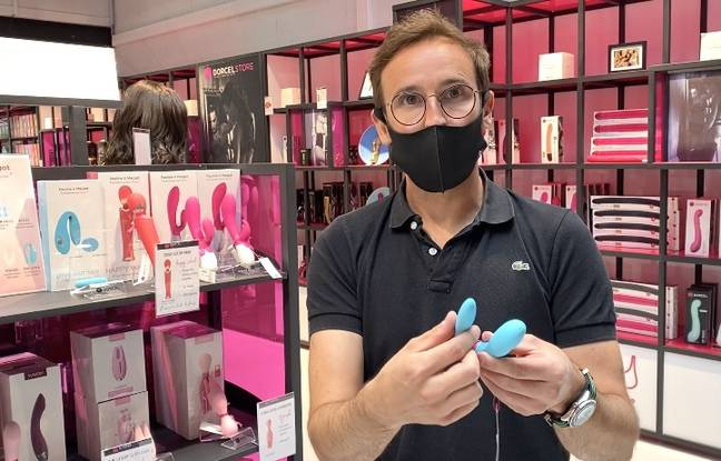 Le directeur des magasins Dorcel Store, BenjaminScanvyou