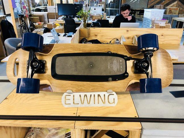 Le skate électronique de Elwing Board.