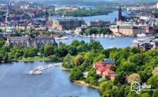 Vue de la ville stockholm en Suède.