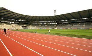 Un stade d'athlétisme - Illustration