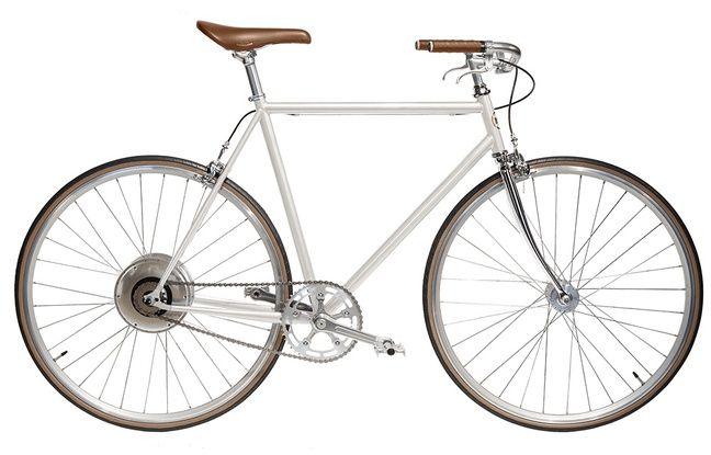 E-Jitensha: un design épuré, mais une petite autonomie.