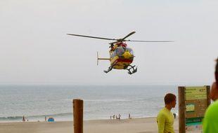 L'hélicoptère de la sécurité civile de la Gironde, Dragon 33