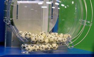 Un tirage du loto aux Etats-Unis en 2012. P. Sears/Sipa