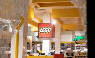 Une boutique Lego à New York le 1er juin 2020.