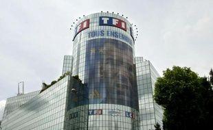 L'immeuble de TF1 propriétaire de la chaine info LCI