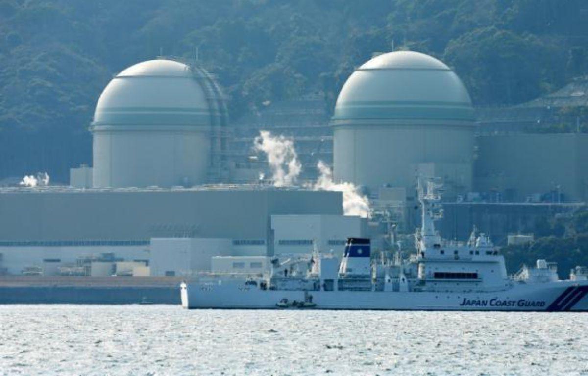 Les réacteurs numéro 3 et 4 de Kansai Electric Power, au Japon, le 26 février 2016 – JIJI PRESS JIJI PRESS