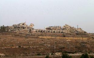 L'ancien hôpital Kindi, dans le nord d'Alep, le 2 octobre 2016