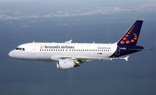 Un avion de la compagnie belge Brussels airlines.