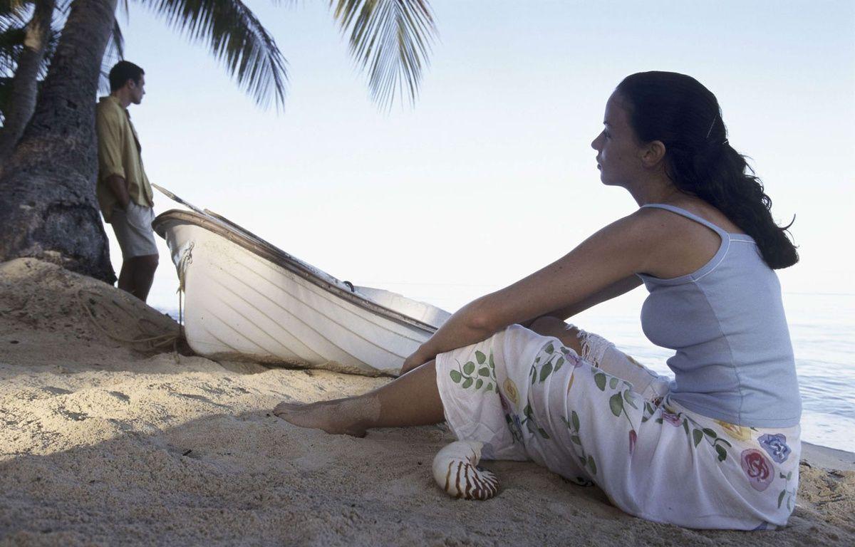 Un couple après une dispute sur la plage (photo d'illustration). – Pole Michael/SUPERSTOCK/SIPA