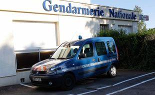 Une voiture de gendarmerie en Loire-Atlantique. (illustration)