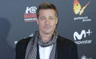 Brad Pitt lors de la Madrid Premier Week
