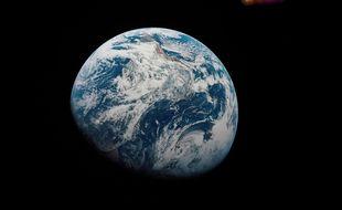 La première photo prise de la Terre en décembre 1968