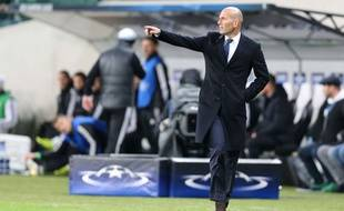 Zinédine Zidane, le 2 novembre 2016 à Varsovie.