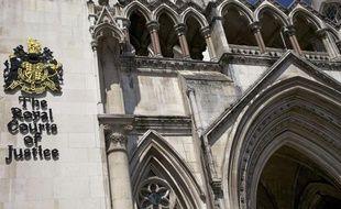 Illustration de la Cour royale britannique de justice.